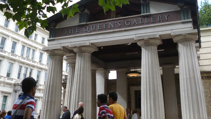 Buckingham Palace tour review at the Queens gallery and ...
