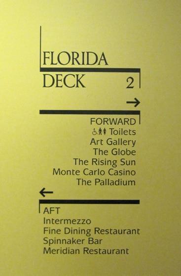 Arcadia deck plan