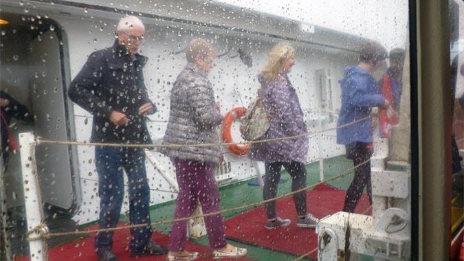 Guernsey tender boat