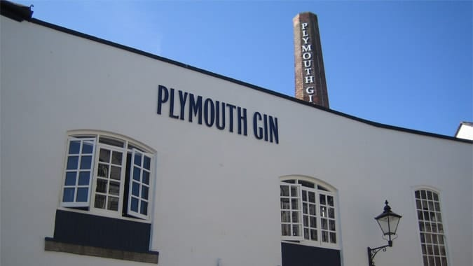 Plymouth Gin Museum on the Barbican.