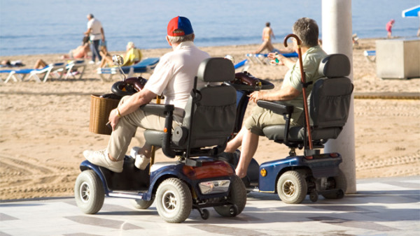 Wayfinding and the Problems Wheelchair users experience on Holiday