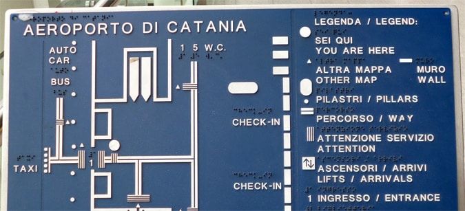 Different Types of Wayfinding Signage in Airports