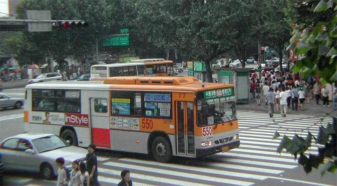 Gangnam bus