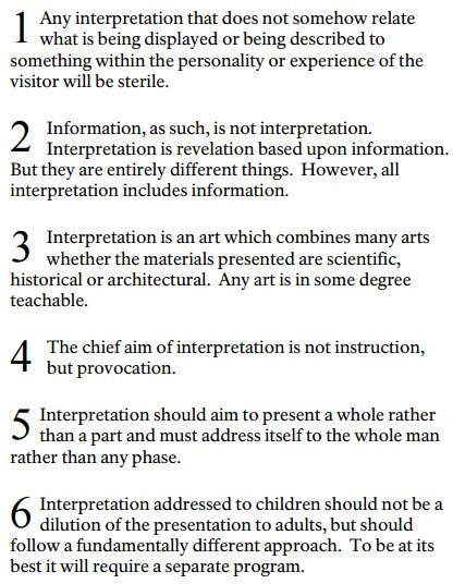 Freeman Tilden principles