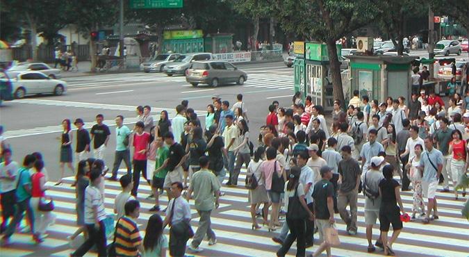 Walking Seoul Korea