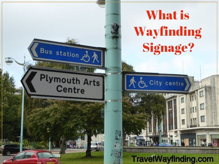 Street signs in Plymouth England