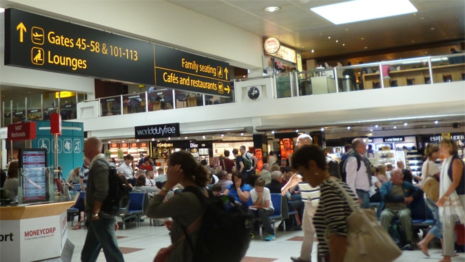 Gatwick Airport Wayfinding Review