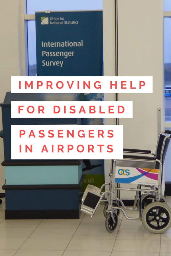 Helping disabled passengers in airports