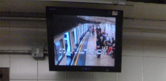 Underground CCTV