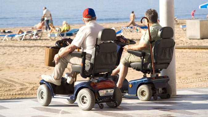 DDA Compliance Access for Wheelchair users on Holiday
