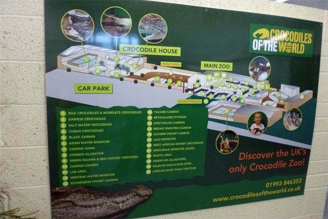 Wayfinding Case Study – Crocodiles of the World Attraction