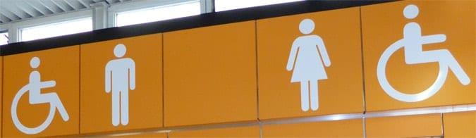 toilet directions