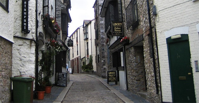 Barbican Plymouth mapping