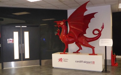 Airport heritage in Wales