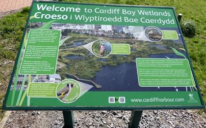 Wetlands signage