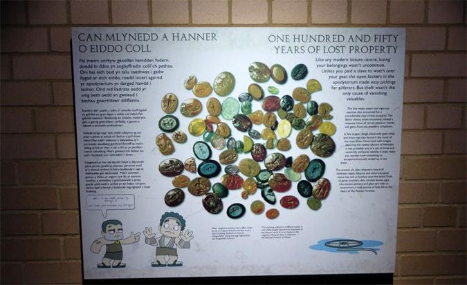 Roman Baths signage