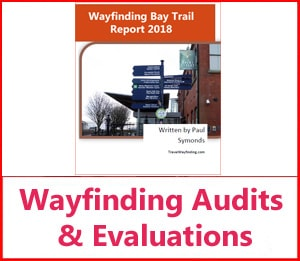 Wayfinding evaulations and audits service