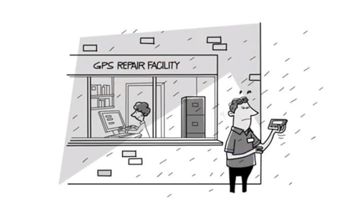 Testing GPS equipment