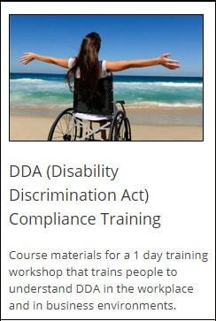 DDA compliance training
